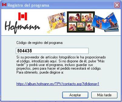 CODIGO REGALO HOFMANN